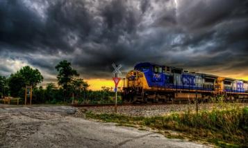 Поезд в небеса во Вроцлаве