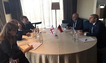 Minister Vahan Martirosyan met with Zurab Alavidze
