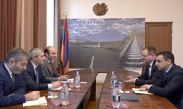Российская компания заинтересована в реализации крупномасштабных программ в Армении