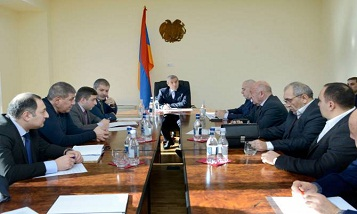 The Minister received the representatives of freight forwarding companies