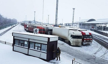 Russian Federation partially suspended the passage of trucks from Ukraine
