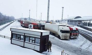 РФ частично приостановила пропуск грузовиков из Украины, - Госпогранслужба