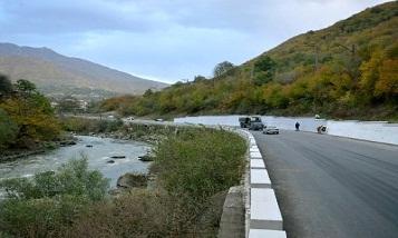 Дорога Ереван-Ванадзор-Тбилиси закроется на шесть часов