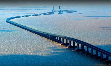 The longest transoceanic bridge in the world