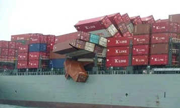 General accident and distribution of kills in maritime transport.