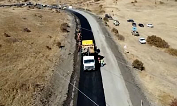 Продолжает ремонт дороги Армения-Иран